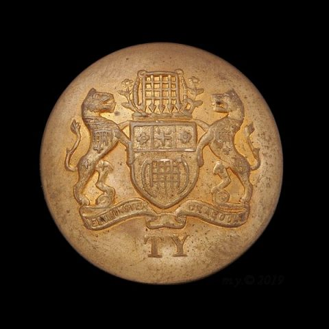 Westminster Yeomanry Dragoons Uniform Button