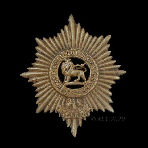 Worcestershire Regiment Glengarry Badge