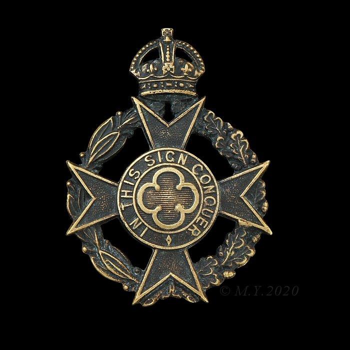 Royal Army Chaplains Department; Christian Chaplains Service Dress Cap Badge