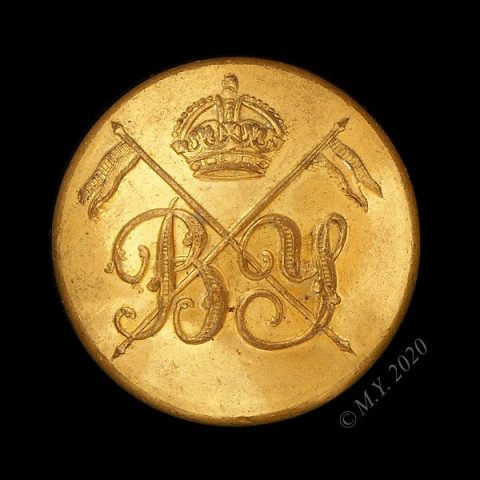 Bedfordshire Yeomanry Uniform Button