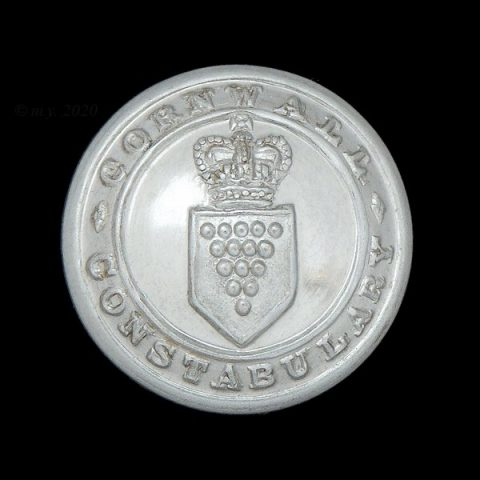 Cornwall Constabulary Uniform Button