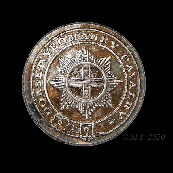 Dorset Yeomanry Cavalry Uniform Button