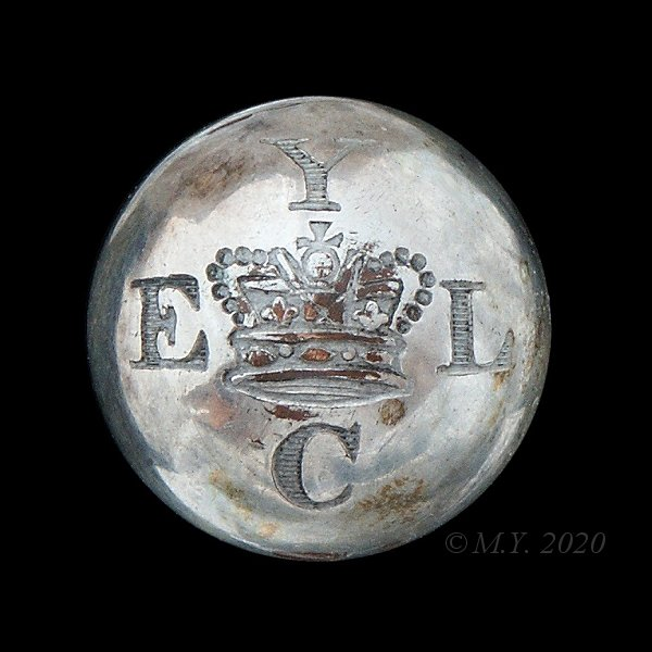 East Lothian Yeomanry Cavalry Uniform Button