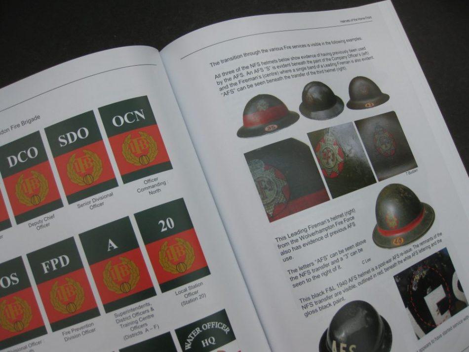 WW2 National Fire Service Helmets