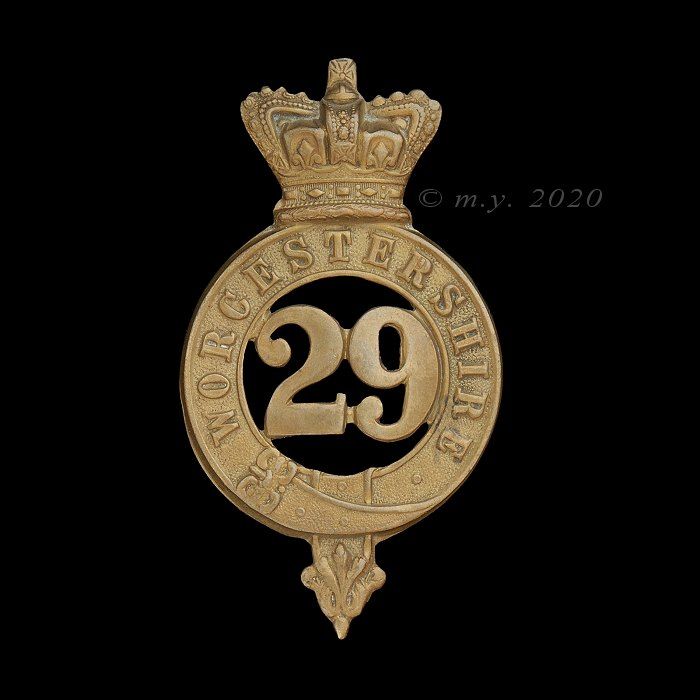 29th (The Worcestershire) Regiment of Foot Glengarry Badge