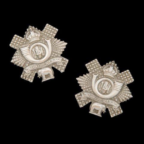 2nd Volunteer Battalion Highland Light Infantry Collar Badges