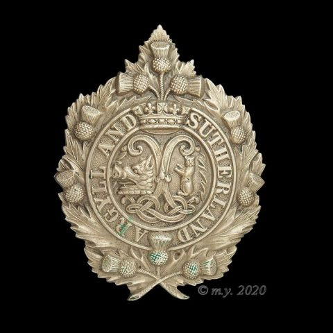 Princess Louise's (Argyll & Sutherland Highlanders) Cap Badge