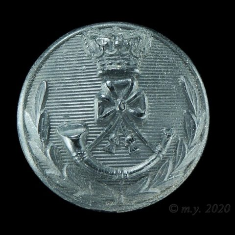 King's Royal Rifle Corps Officers Uniform Button