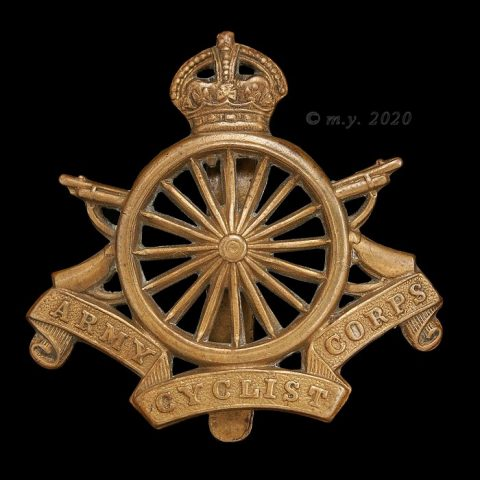 Army Cyclist Corps Cap Badge