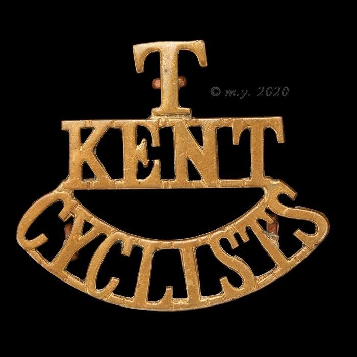 Kent Cyclist Battalion Shoulder Title