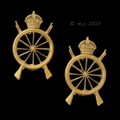 Northern Cyclist Battalion Collar Badges