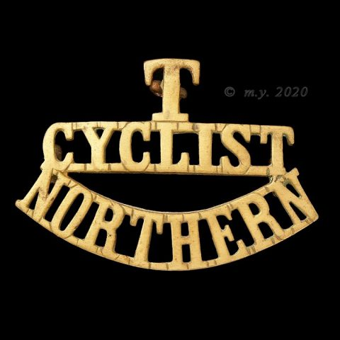Northern Cyclist Battalion Shoulder Title