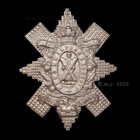 The Black Watch Royal Highlanders Cap Badge 1898-1901