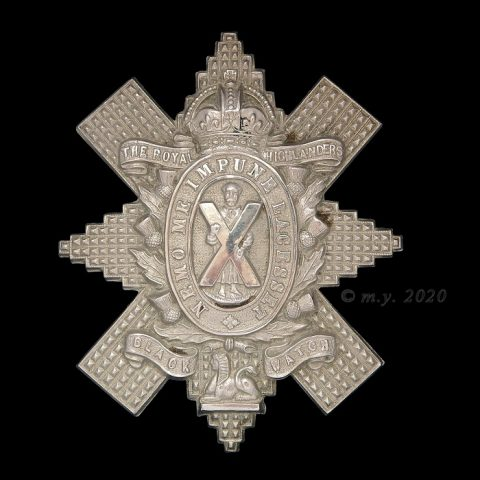 The Black Watch (Royal Highlanders) Cap Badge 1901-1937
