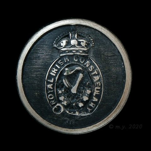 Royal Irish Constabulary Uniform Button