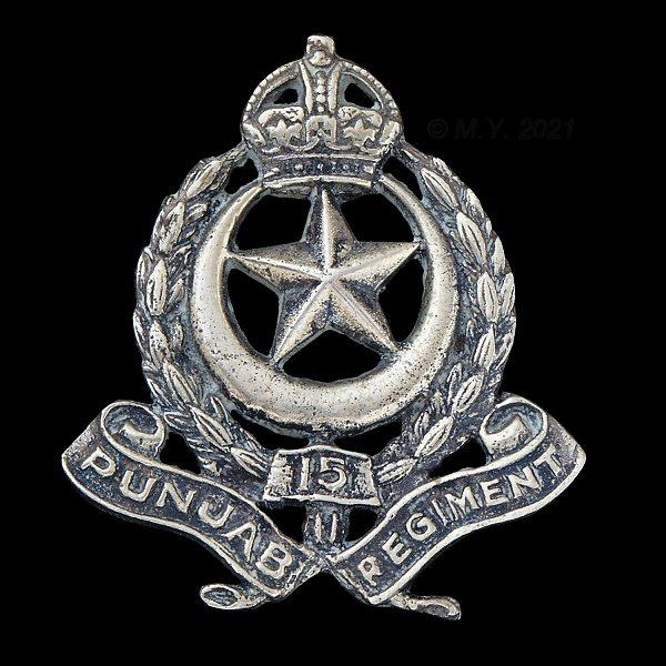 15th Punjab Regiment Cap Badge