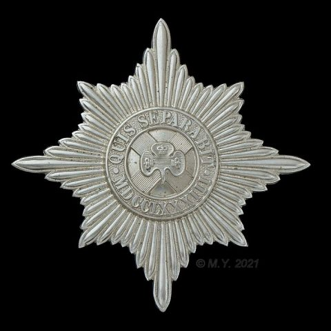 Irish Guards Pipers' Caubeen Badge