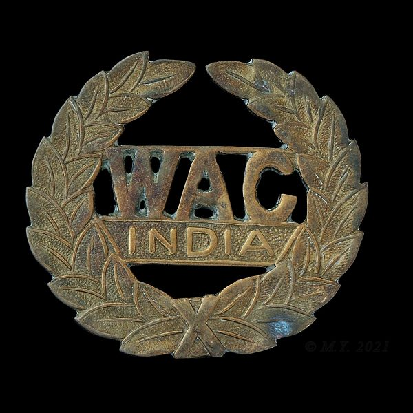 Women's Auxiliary Corps (India) Cap Badge